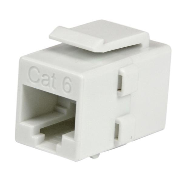 StarTech.com Acoplador Keystone de Cable de Red Ethernet Cat6 RJ45 - Hembra a Hembra
