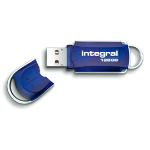 Integral 128GB USB 2.0 128GB USB 2.0 Type-A Blue USB flash drive