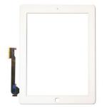 Foxconn iPad 3 Premium Compatible Assembly Kit, White, Digitizer
