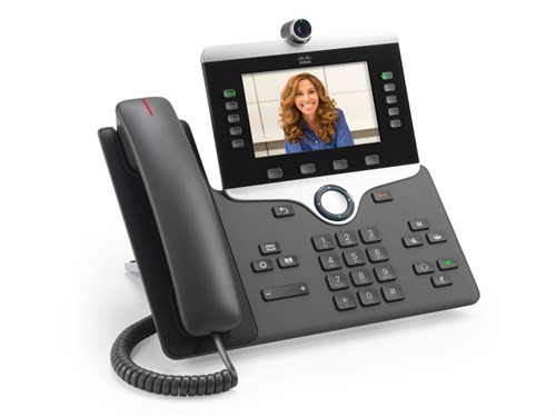 Cisco IP Phone 8865 Wired handset Wi-Fi Charcoal