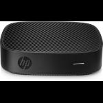 HP t430 1.1 GHz N4000 Smart Zero 740 g Black