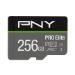 PNY PRO Elite memory card 256 GB MicroSDXC Class 10 UHS-I