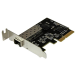 StarTech.com Tarjeta de Red Ethernet PCI Express de 10 Gigabits de Fibra con SFP+ abierto - Adaptador NIC