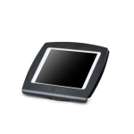 "Ergonomic Solutions SpacePole C-Frame tablet security enclosure 10.5"" Black"