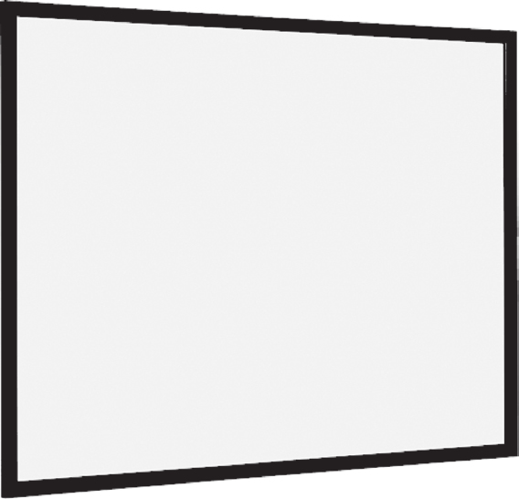 Euroscreen Frame Vision Light - 210cm x 157cm - 4:3