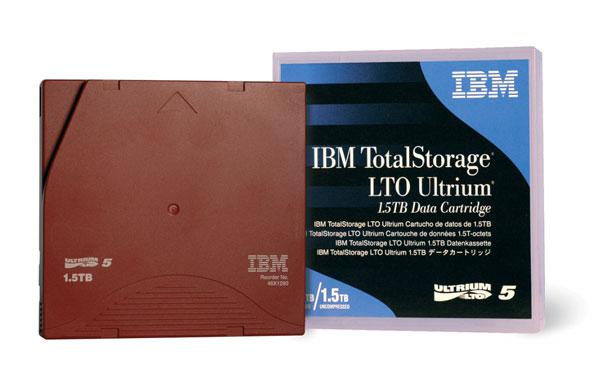 IBM 46X1290 blank data tape LTO 1500 GB
