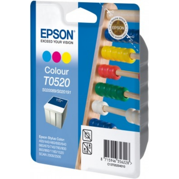 Epson C13T05204010 (T0520) Ink cartridge color, 320 pages, 35ml