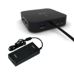 i-tec USB-C Dual Display Docking Station with Power Delivery 100 W + Universal Charger 112 W C31DUALDPDOCKPD100W