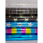 OZCORP WRAPPING PAPER OZCORP 74CMX4M ASSORTED PRINTS ( BX30 )