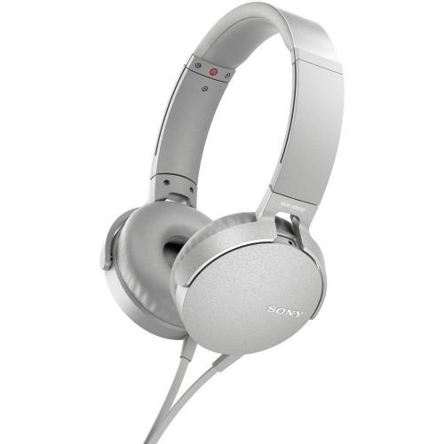 Sony MDR-XB550AP Headset Head-band White