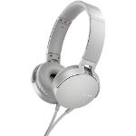 Sony MDR-XB550AP Head-band Binaural Wired White mobile headset