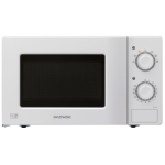 Daewoo KOR6L77 Countertop Solo microwave 20L 700W White microwave
