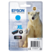 Epson Polar bear Cartucho 26XL cian