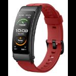 "Huawei TalkBand B6 AMOLED 3.89 cm (1.53"") Armband activity tracker Red IP57"