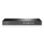 TP-LINK 16-Port Gigabit Switch Unmanaged network switch Black