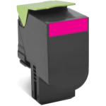 Lexmark 70C8HM0 3000pages Magenta laser toner & cartridge