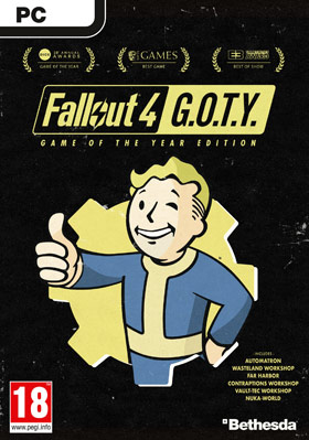 Nexway Fallout 4: Game Of The Year Edition vídeo juego PC Español