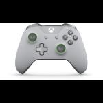 Microsoft WL3-00061 Spielkontroller Gamepad Xbox One S Analog RF Grün, Grau