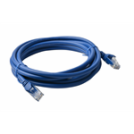 8WARE Cat 6a UTP Ethernet Cable, Snagless  - 5m Blue
