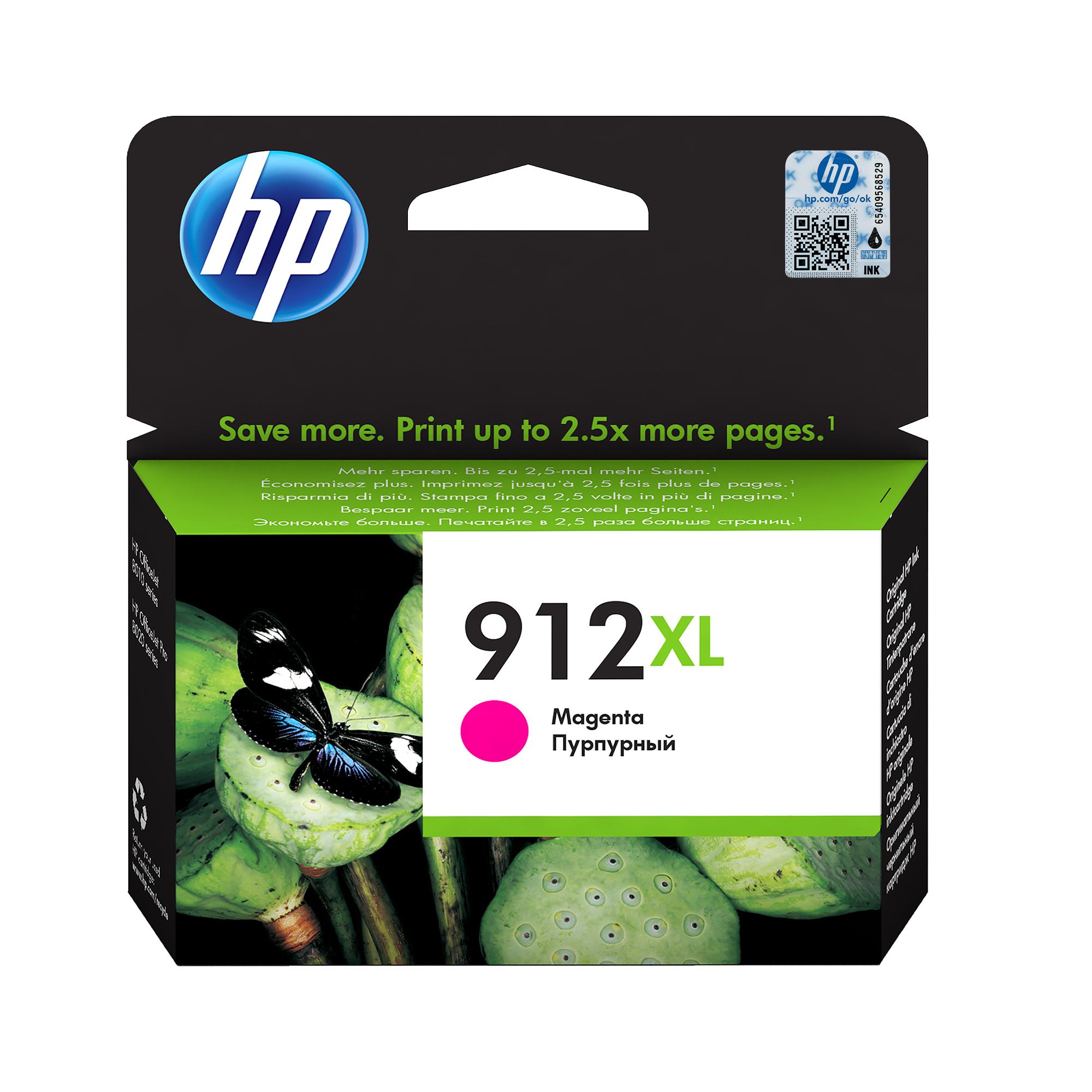 HP 912XL Original Magenta 1 pieza(s)