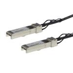 StarTech.com Juniper EX-SFP-10GE-DAC-1M Compatible 1m 10G SFP+ to SFP+ Direct Attach Cable Twinax - 10GbE SFP+ Copper DAC 10 Gbps Low Power Passive Mini GBIC/Transceiver Module DAC