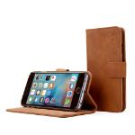 "TheSnugg B00PASIUZY 4.7"" Folio Brown mobile phone case"
