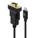 ALOGIC 1m USB-C to VGA Cable - Male to Male - Premium Retail Box Packaging