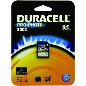 Duracell SDHC 32GB 32GB SDHC Class 10 memory card