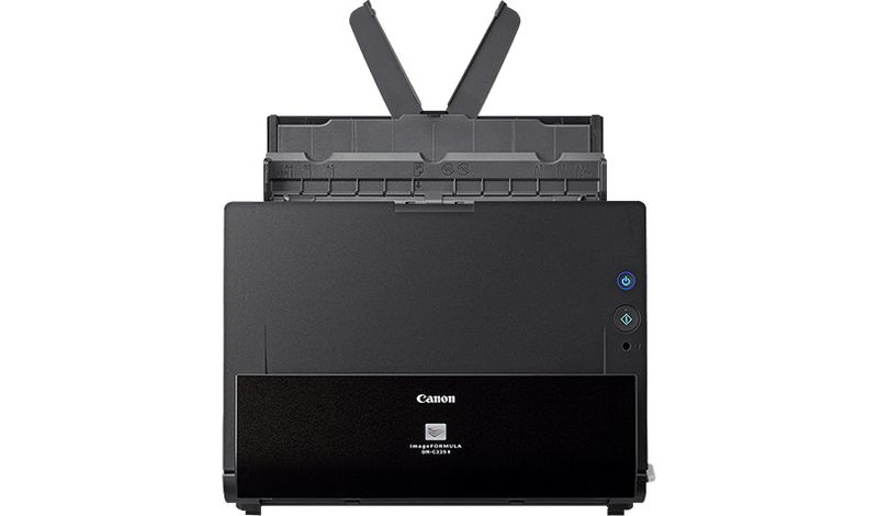 Canon imageFORMULA DR-C225 II 600 x 600 DPI ADF + Manual feed scanner Black A4