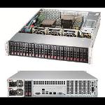Supermicro SSG-2029P-E1CR24H server barebone LGA 3647 (Socket P) Rack (2U) Black