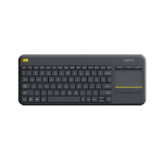 Logitech K400 Plus RF Wireless QWERTY Dutch Black
