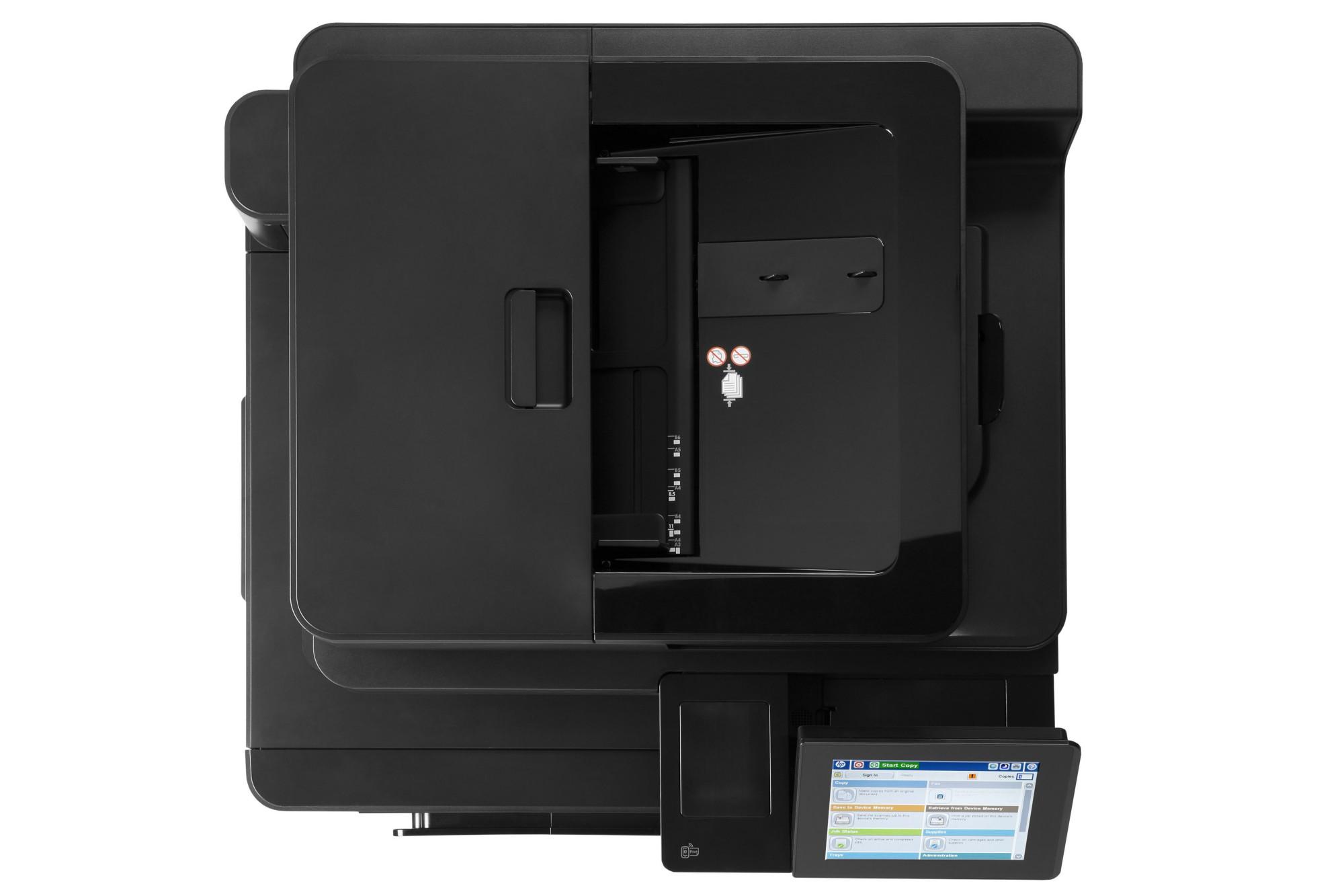 HP LaserJet Color Enterprise flow MFP M880z+