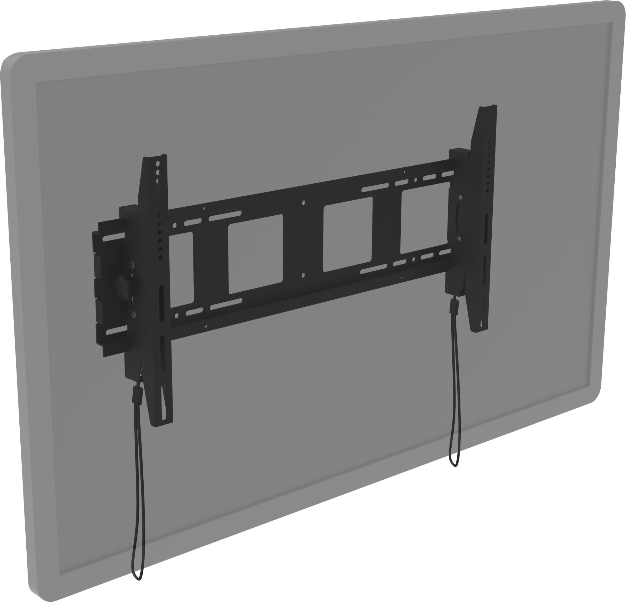 "Vision VFM-W8X4T signage display mount 2.16 m (85"") Black"