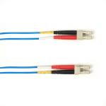 """Black Box FOLZH62-003M-LCLC-BL fiber optic cable 118.1"""" (3 m) LSZH OM1 LC Blue"""