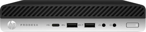 HP ProDesk 600 G3 7th gen Intel® Core™ i5 i5-7500T 4 GB DDR4-SDRAM 500 GB HDD Black,Silver Mini PC