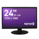 "Wortmann AG Terra 2412W Greenline Plus 24"" Full HD TN+Film Black computer monitor"