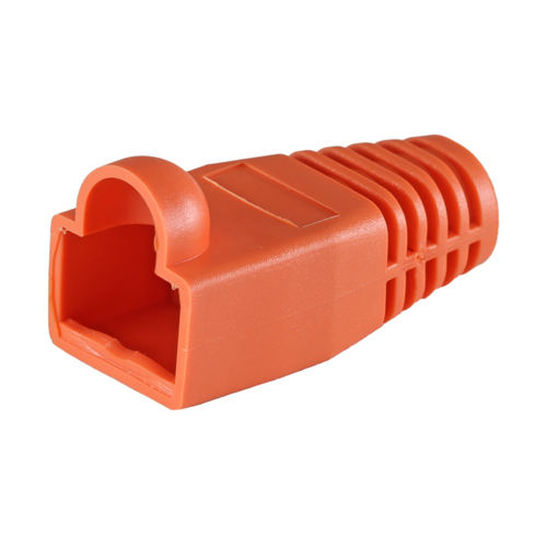 Cablenet RJ45 Cat6a Boot Orange 6.5mm