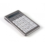 Hypertec KEYBSAT1NHY numeric keypad USB Notebook/PC Grey, White