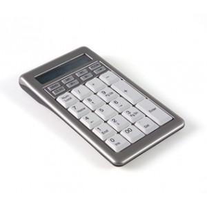 Hypertec KEYBSAT1NHY numeric keypad USB Notebook/PC Grey, White