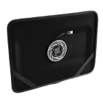 """Fabrique Chill Slate - 16"""" 17"""" Black notebook cooling pad"""