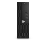 DELL OptiPlex 3050 3.9GHz i3-7100 SFF 7th gen Intel® Core™ i3 Black PC