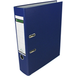 Leitz 180° Plastic Lever Arch File - Blue Blue ring binder