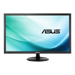 "ASUS VP228HE computer monitor 54.6 cm (21.5"") 1920 x 1080 pixels Full HD Flat Matt Black"