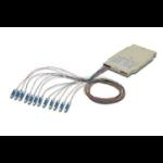 ASSMANN Electronic 12 LC, 9/125µ fibre optic adapter Beige 1 pc(s)