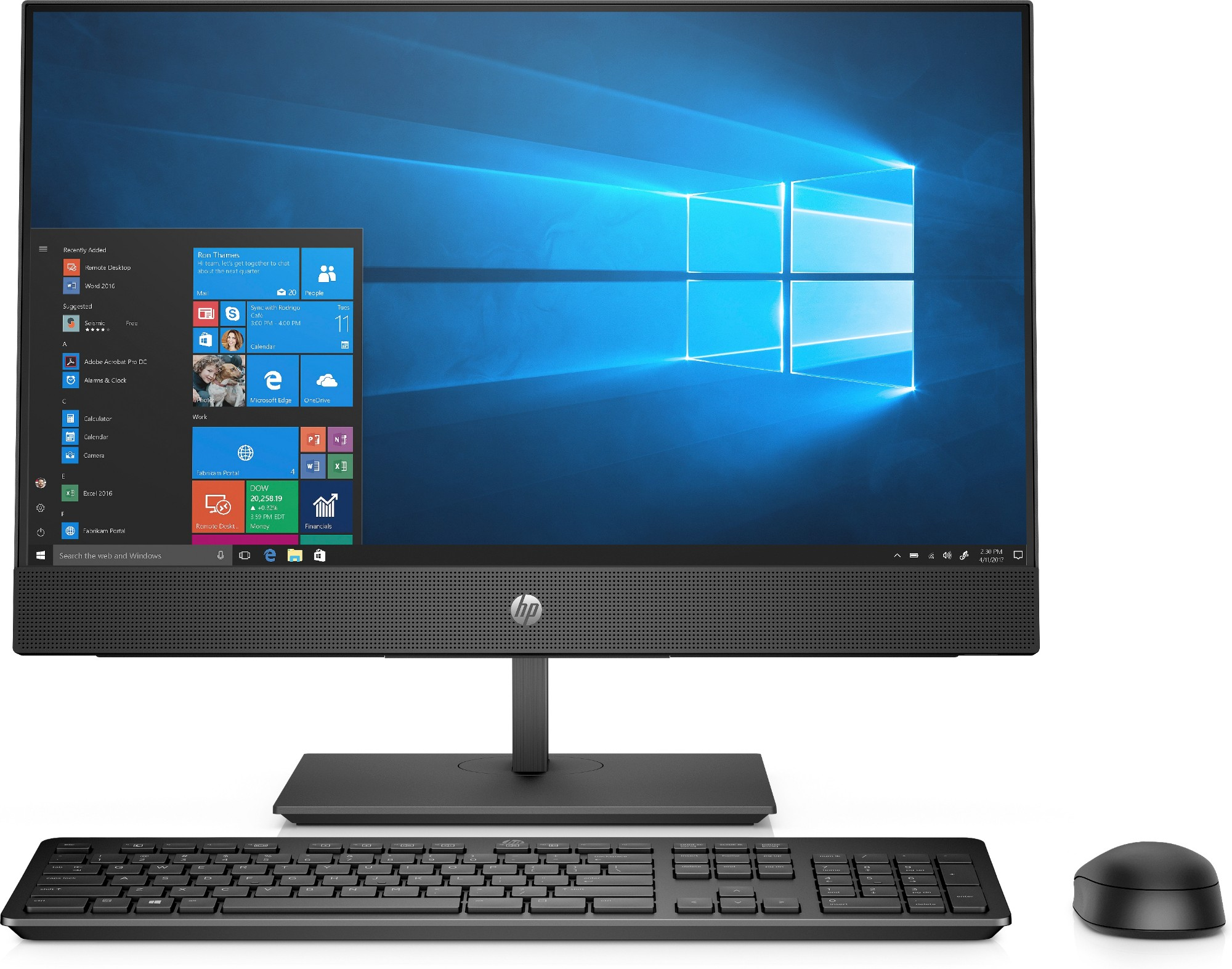 HP AIO ProOne 440 G5 8JW98EA#ABU Core i7-9700T 8GB 512GB SSD 23.8IN FHD Win 10 Pro