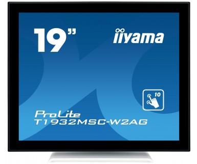 "iiyama ProLite T1932MSC-W2AG 19"" 1280 x 1024pixels Multi-touch Black,White touch screen monitor"