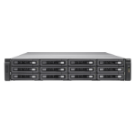 QNAP TES-1885U Ethernet LAN Rack (2U) Black NAS