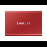 Samsung T7 2000 GB Red MU-PC2T0R/WW