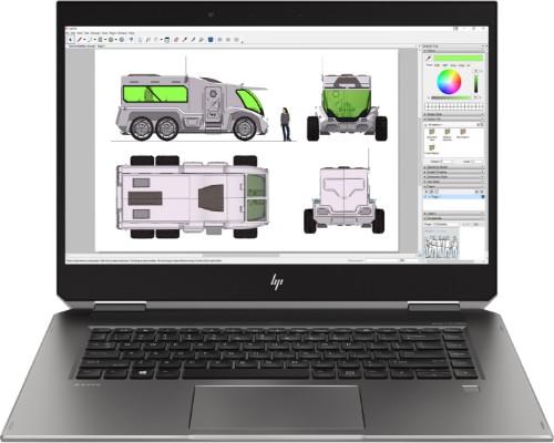 HP ZBook Studio x360 G5 Mobile workstation Silver 39.6 cm (15.6