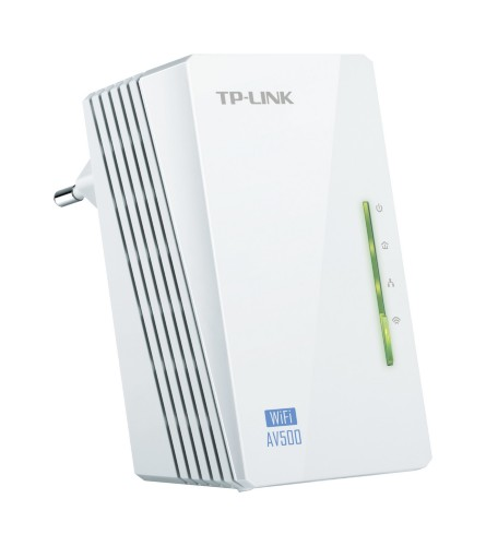 TP-LINK TL-WPA4220 PowerLine network adapter 500 Mbit/s Ethernet LAN Wi-Fi White 1 pc(s)